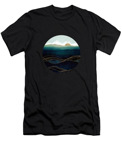 Indigo Waters Men's T-Shirt (Athletic Fit)