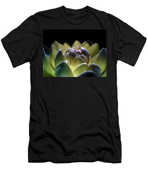 Indonesian White Lotus Men's T-Shirt (Athletic Fit)