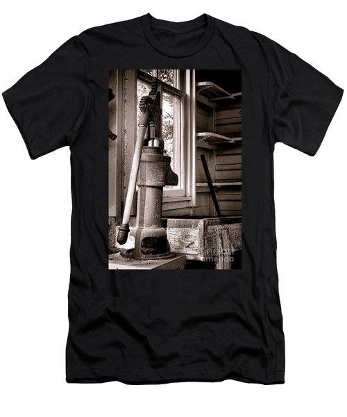 Indoor Plumbing Men's T-Shirt (Athletic Fit)