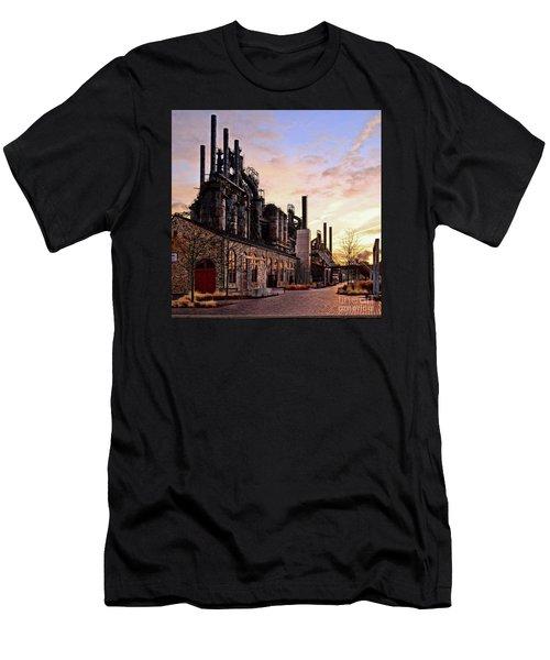 Industrial Landmark Men's T-Shirt (Athletic Fit)