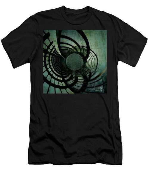 Industrial Overpass Grey Men's T-Shirt (Athletic Fit)