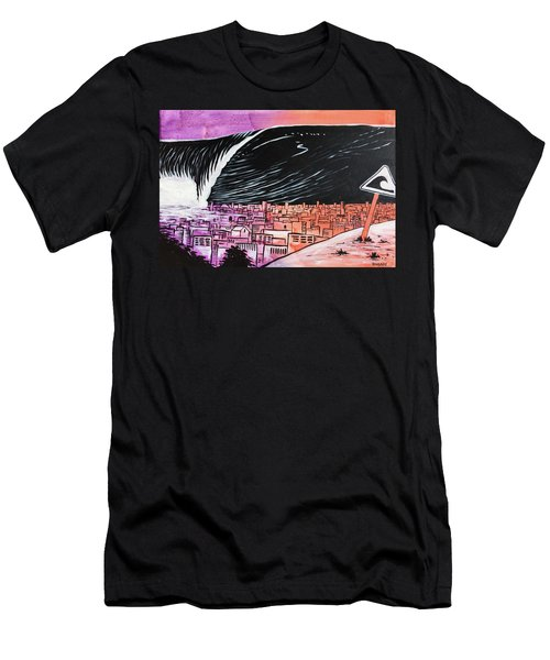 Men's T-Shirt (Athletic Fit) featuring the painting Inescapable Love by Nathan Rhoads