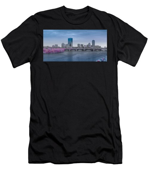 Infrared Boston Men's T-Shirt (Athletic Fit)