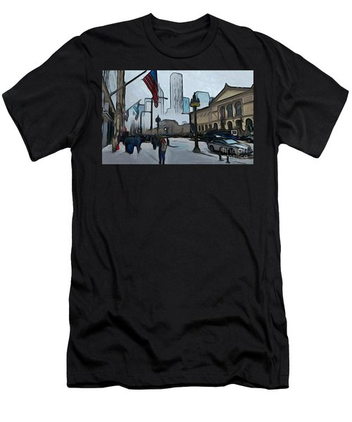 Infrastruction Meltdown Men's T-Shirt (Athletic Fit)