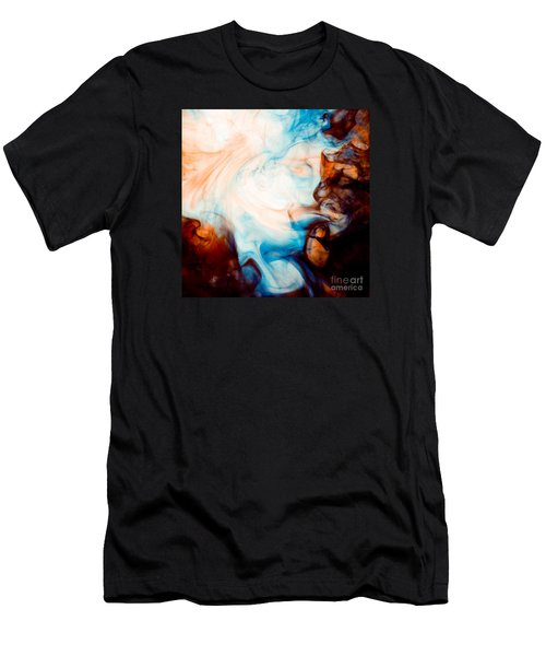 Ink Swirls 001 Men's T-Shirt (Athletic Fit)