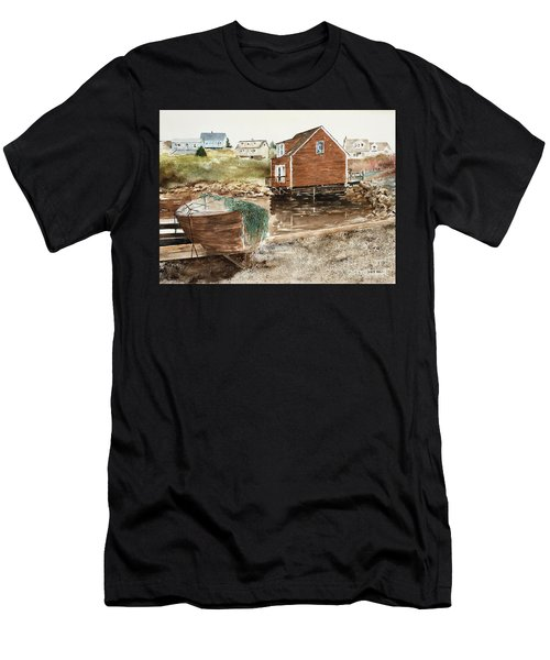 Inlet At Peggy's Cove Men's T-Shirt (Athletic Fit)
