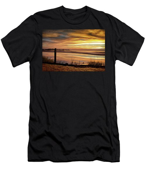 Inlet Watch At Dawn Men's T-Shirt (Athletic Fit)