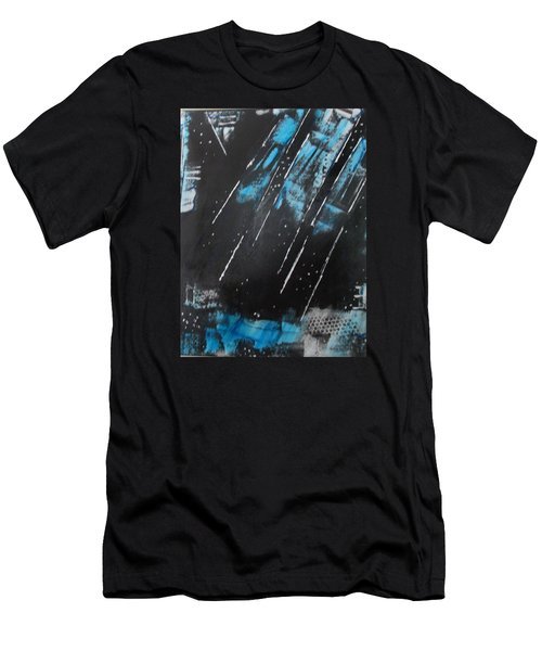 Men's T-Shirt (Slim Fit) featuring the painting Inner Flight by Sharyn Winters