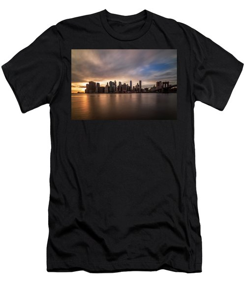 Men's T-Shirt (Slim Fit) featuring the photograph Inner Glow  by Anthony Fields