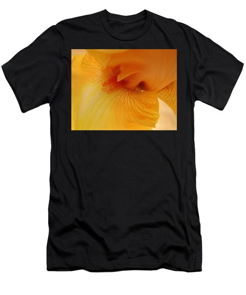Inner Iris, Yellow, Close-up Men's T-Shirt (Athletic Fit)