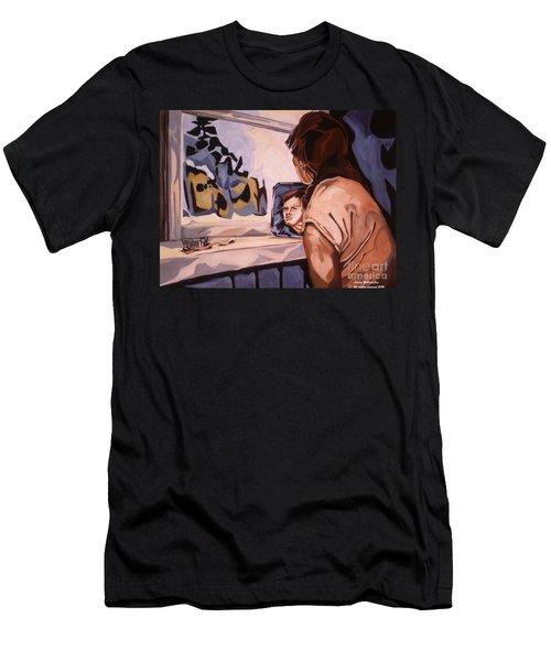 Inner Landscape Men's T-Shirt (Athletic Fit)