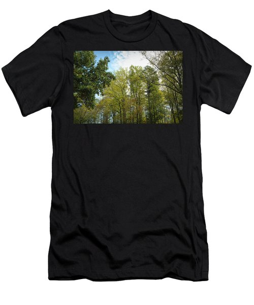 Men's T-Shirt (Athletic Fit) featuring the photograph Inner Light by John M Bailey