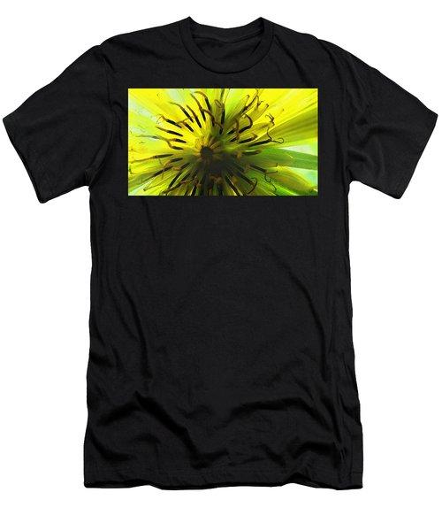 Inside A Yellow Goatsbeard  Men's T-Shirt (Athletic Fit)