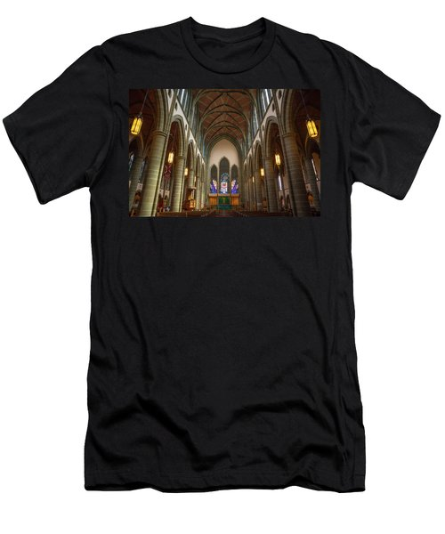Inside Christchurch Cathedral Men's T-Shirt (Athletic Fit)