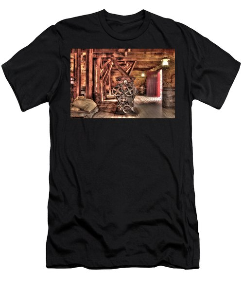 Inside The Mill Men's T-Shirt (Athletic Fit)