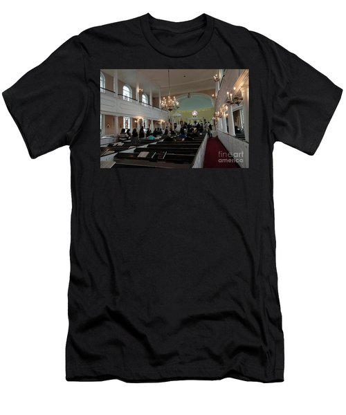 Inside The S. Georges Church Episcopal Anglican Men's T-Shirt (Athletic Fit)