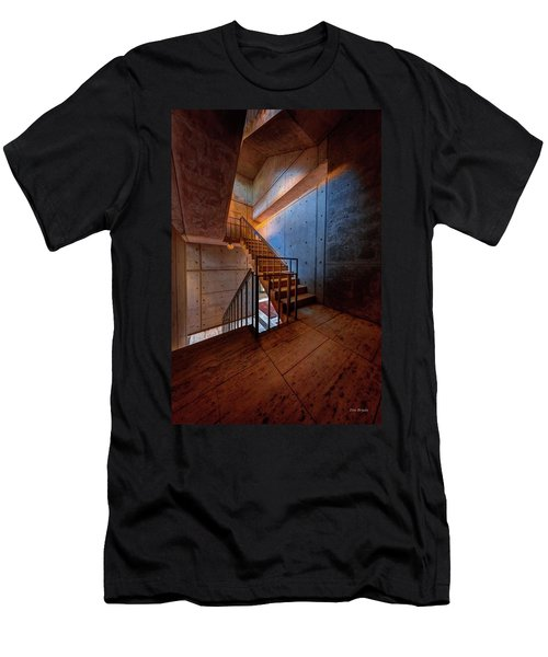 Inside The Stairwell Men's T-Shirt (Athletic Fit)