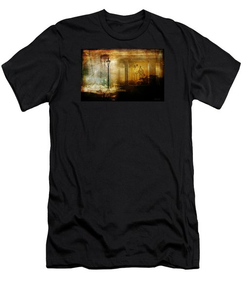 Inside Where It's Warm Men's T-Shirt (Slim Fit) by Bellesouth Studio