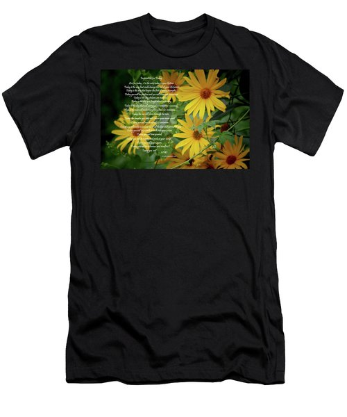 Inspiration For Today Floral Men's T-Shirt (Athletic Fit)