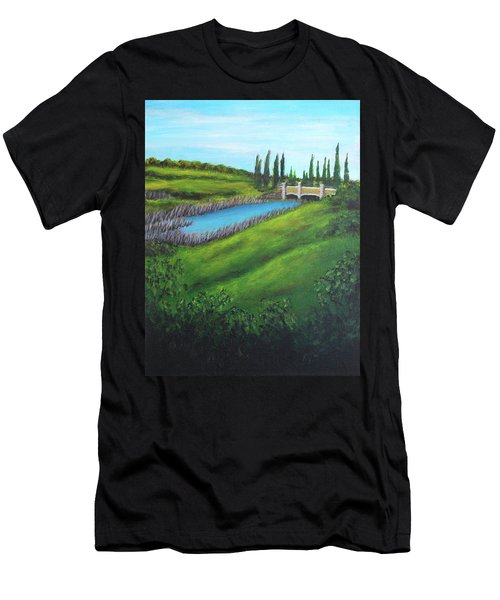 Inspiration In Mountain House Men's T-Shirt (Athletic Fit)