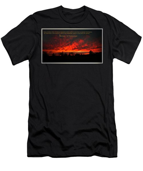 Men's T-Shirt (Slim Fit) featuring the photograph Inspiration by Joyce Dickens