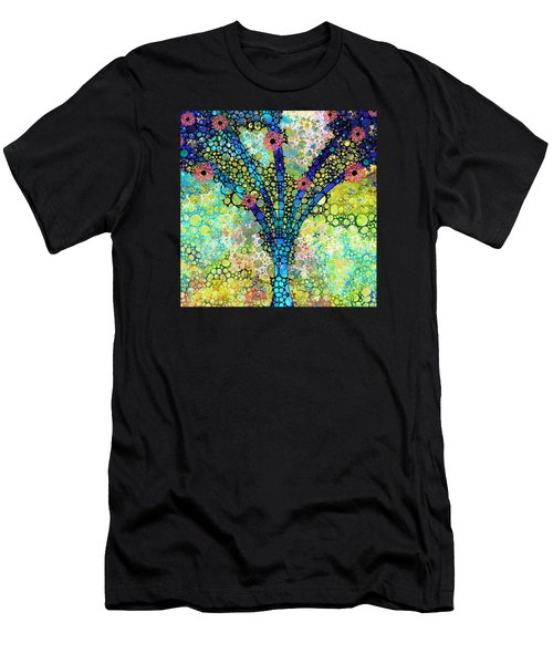 Inspirational Art - Absolute Joy - Sharon Cummings Men's T-Shirt (Athletic Fit)