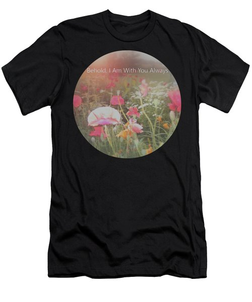Inspirational Poppies In The Light Men's T-Shirt (Athletic Fit)