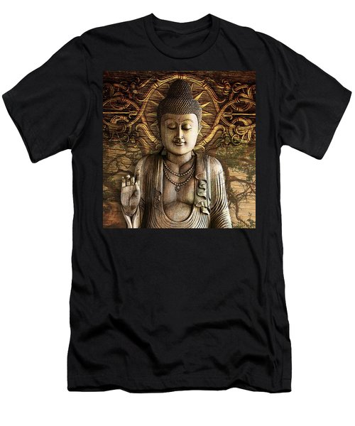 Intentional Bliss Men's T-Shirt (Slim Fit) by Christopher Beikmann