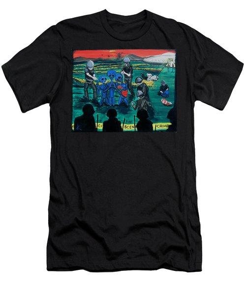 Intergalactic Misunderstanding Men's T-Shirt (Athletic Fit)
