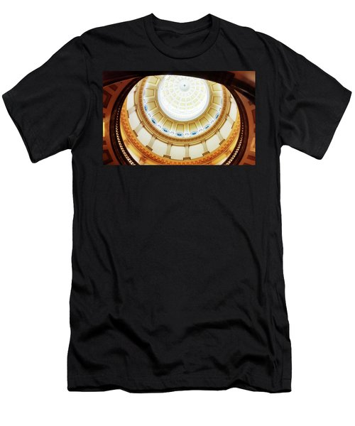 Men's T-Shirt (Athletic Fit) featuring the photograph Interior Denver Capitol by Marilyn Hunt