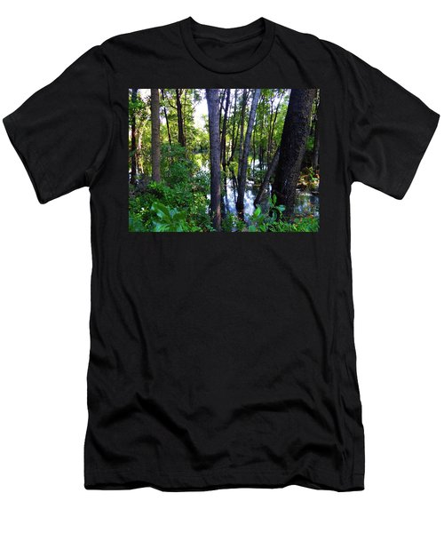 Interior Lake Chale Island Men's T-Shirt (Athletic Fit)
