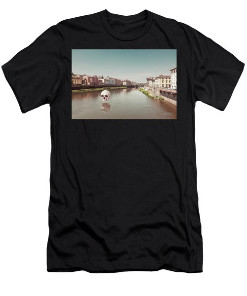 Men's T-Shirt (Slim Fit) featuring the photograph Interloping, Florence by Joseph Westrupp