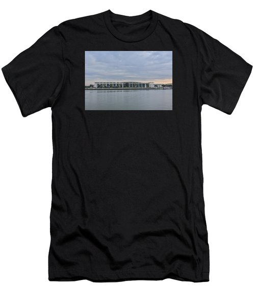 Interntational Trade And Convention Center Men's T-Shirt (Athletic Fit)