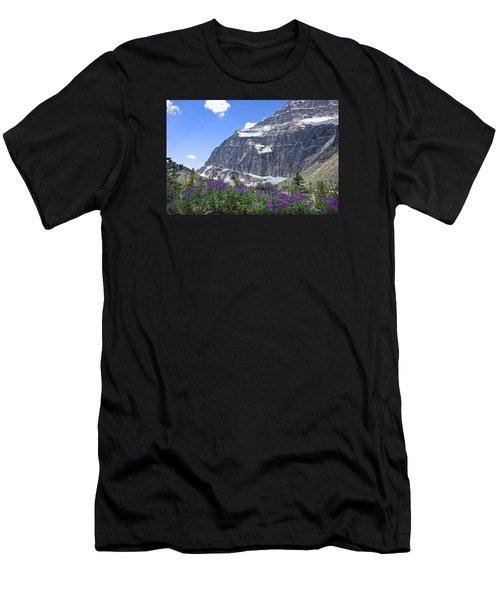 Interpretive Apps In The Canadian Rockies Men's T-Shirt (Athletic Fit)
