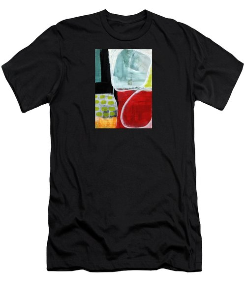Intersection 37- Abstract Art Men's T-Shirt (Athletic Fit)
