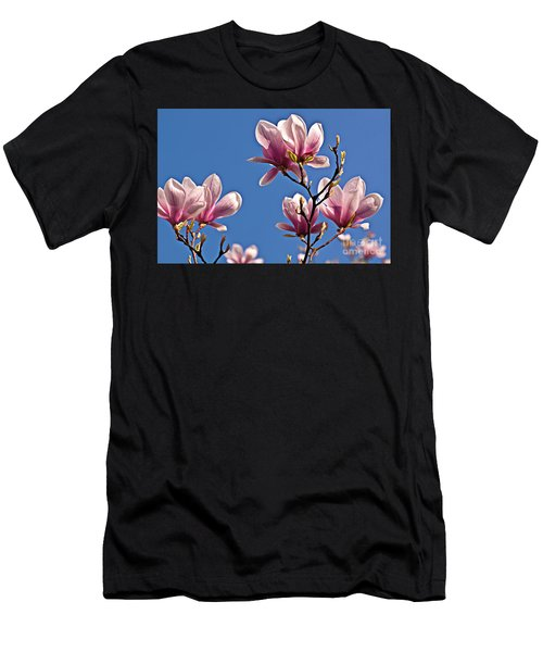 Men's T-Shirt (Athletic Fit) featuring the photograph Into The Blue by Silva Wischeropp