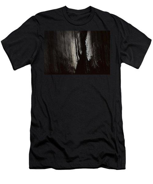 Into The Dark  Men's T-Shirt (Slim Fit) by Nadalyn Larsen