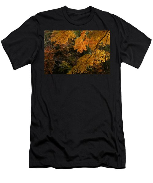 Into The Fall Men's T-Shirt (Slim Fit) by Michael McGowan