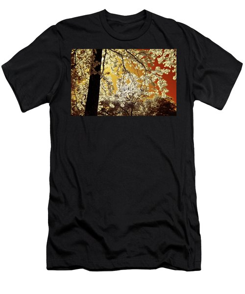 Men's T-Shirt (Slim Fit) featuring the photograph Into The Golden Sun by Linda Unger