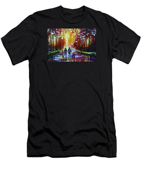 Into The Light Men's T-Shirt (Athletic Fit)