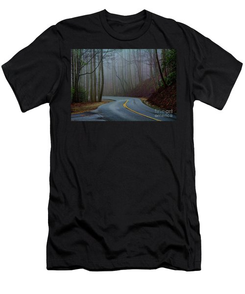 Men's T-Shirt (Slim Fit) featuring the photograph Into The Mist by Douglas Stucky