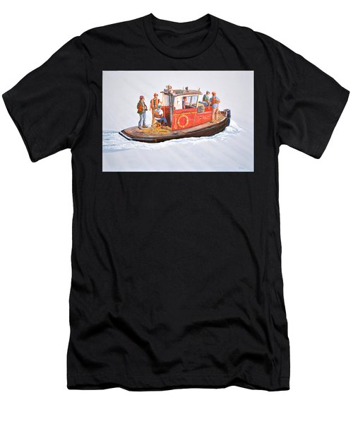 Into The Mist-the Crew Boat Men's T-Shirt (Athletic Fit)