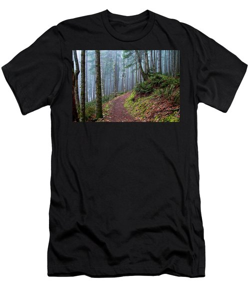 Into The Misty Forest Men's T-Shirt (Athletic Fit)