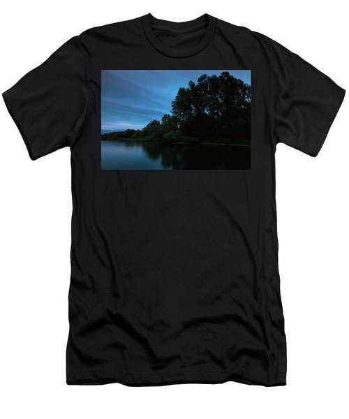 Men's T-Shirt (Athletic Fit) featuring the photograph Into The Night by Davor Zerjav