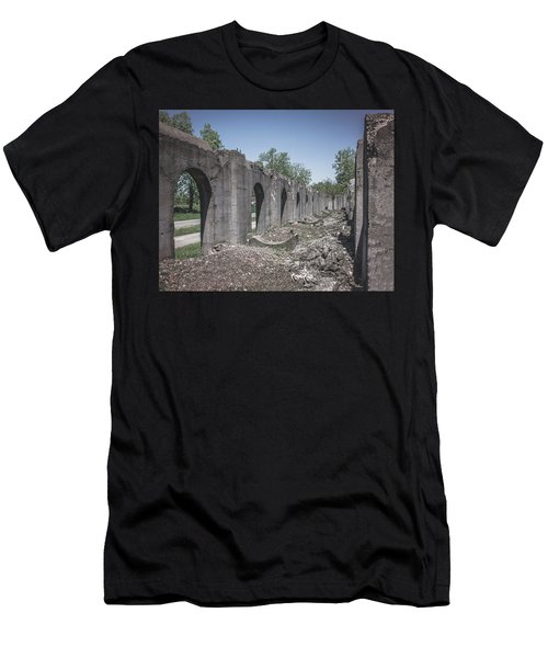 Men's T-Shirt (Athletic Fit) featuring the photograph Into The Ruins 2 by Melissa Lane