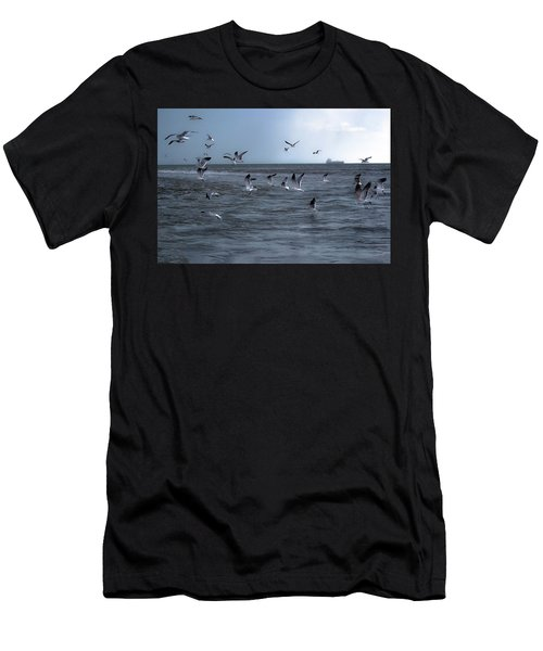 Men's T-Shirt (Athletic Fit) featuring the photograph Into The Storm by Melissa Lane