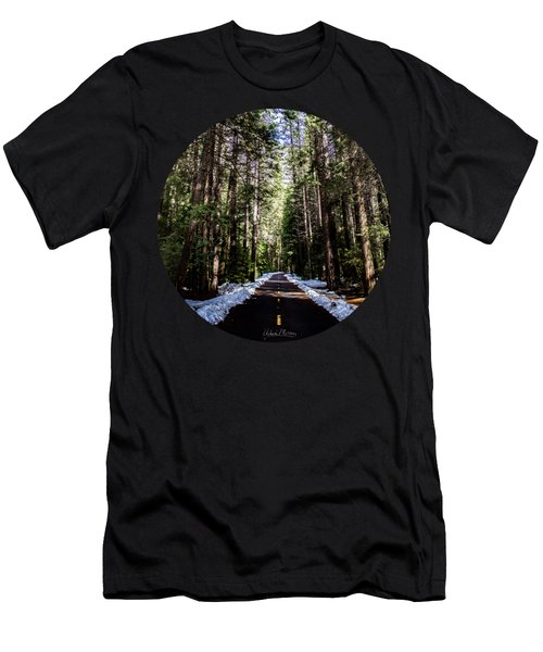 Into The Woods Men's T-Shirt (Slim Fit) by Adam Morsa