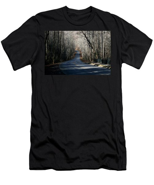 Into The Woods Men's T-Shirt (Slim Fit) by Cathy Harper