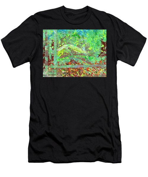 Into The Woods-through The Looking Glass Men's T-Shirt (Athletic Fit)