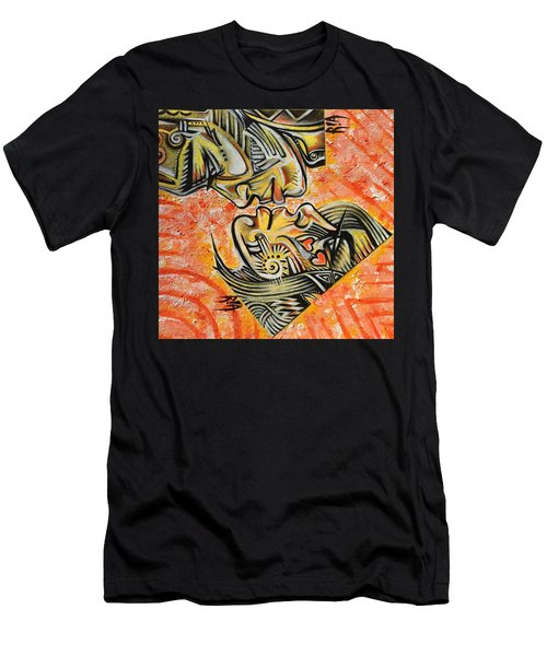 Intricate Intimacy Men's T-Shirt (Slim Fit) by RiA RiA
